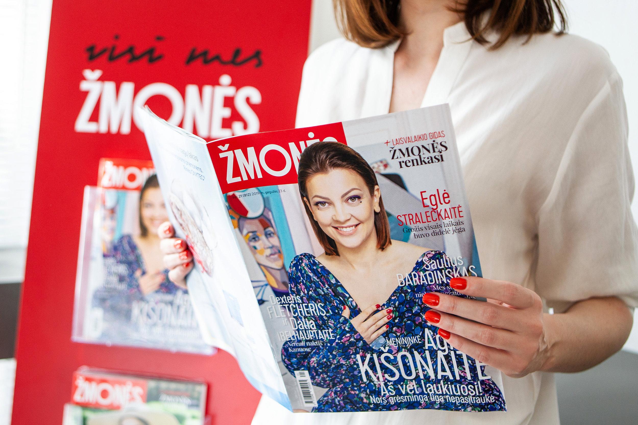 """""""Žmonės"""" augina savo skaitytojų ratą - Kiekvieną savaitę žurnalą skaito 265 tūkst. žmonių."""