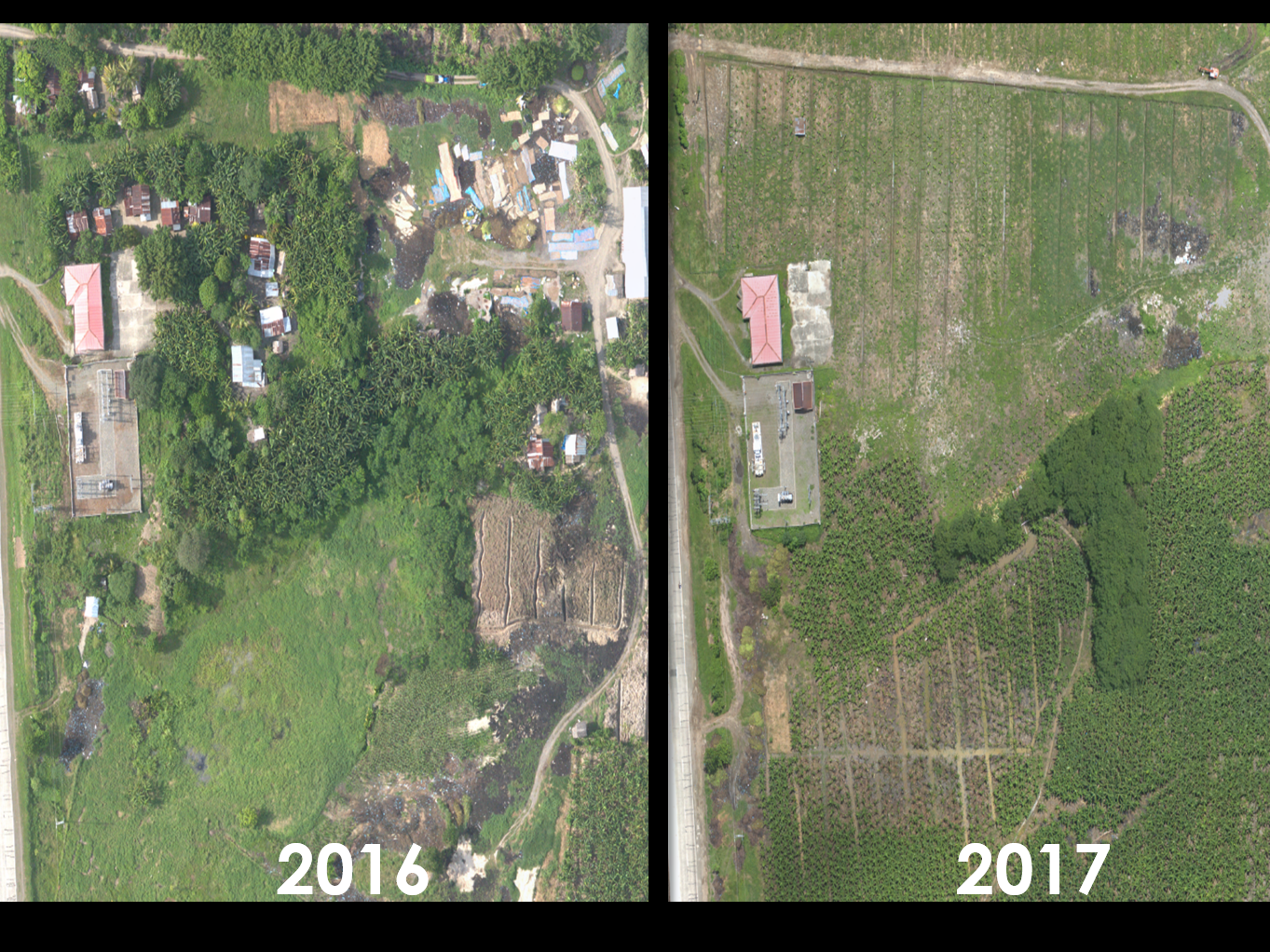 FOREST ENCROACHMENT - CHANGE OVER TIME