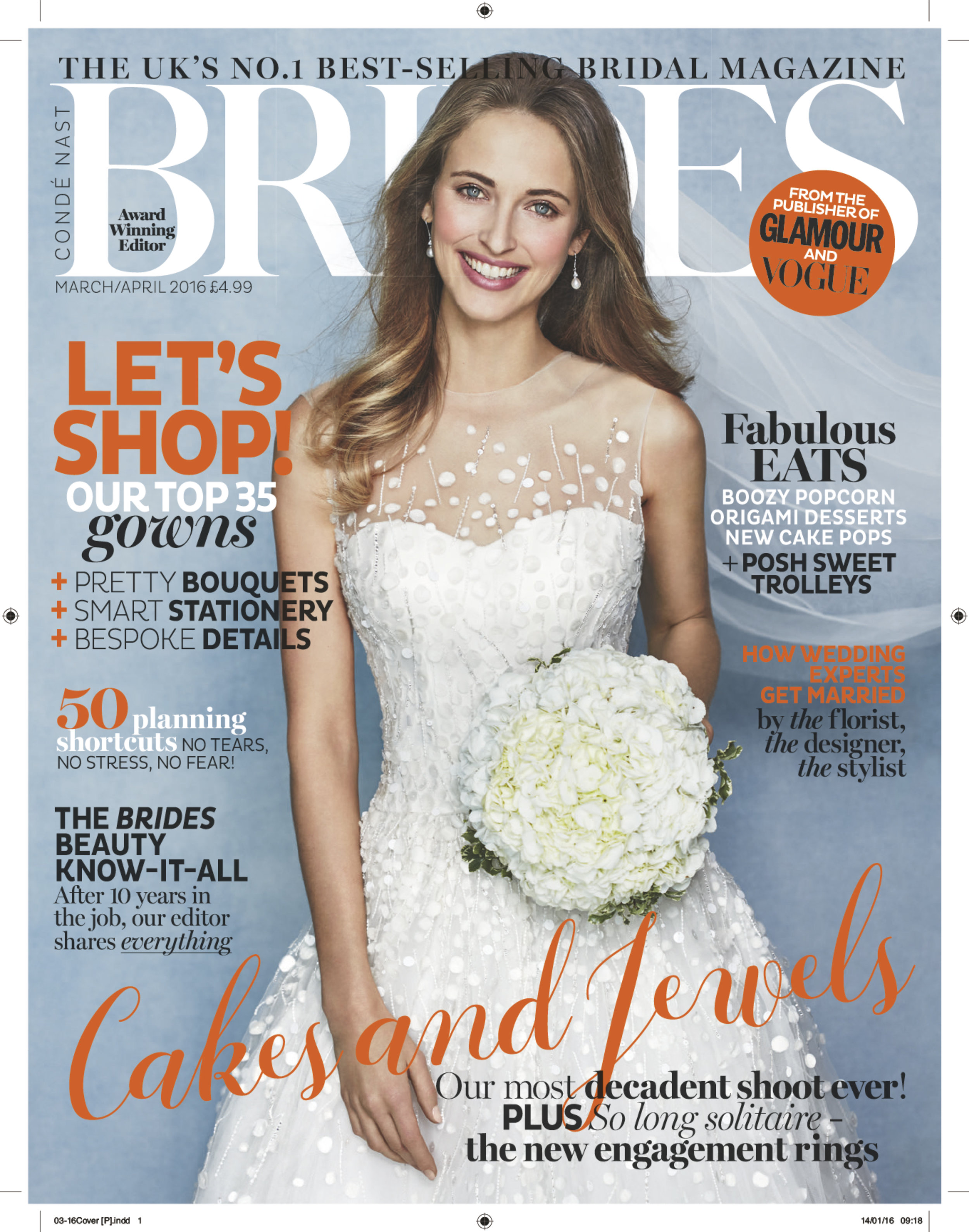 Brides Magazine - Mar/Apr 2016