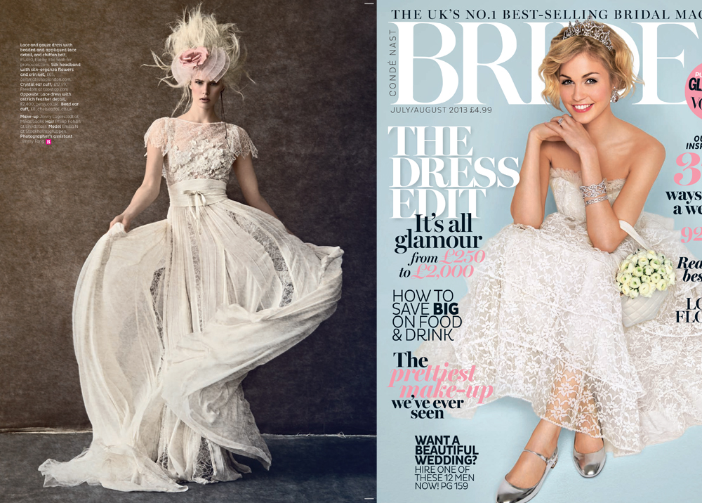 Brides Magazine - July/Aug 2013