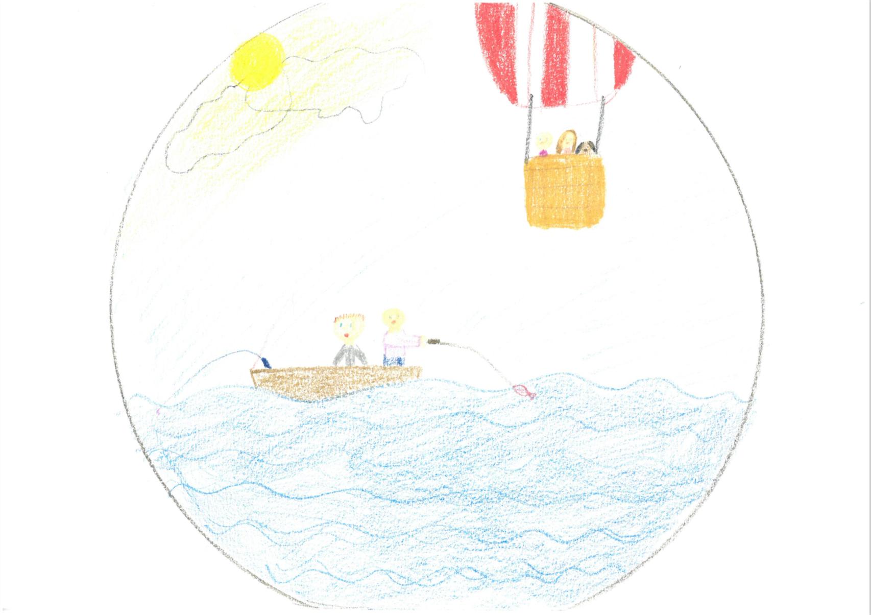 The Magic Hot Air Balloon