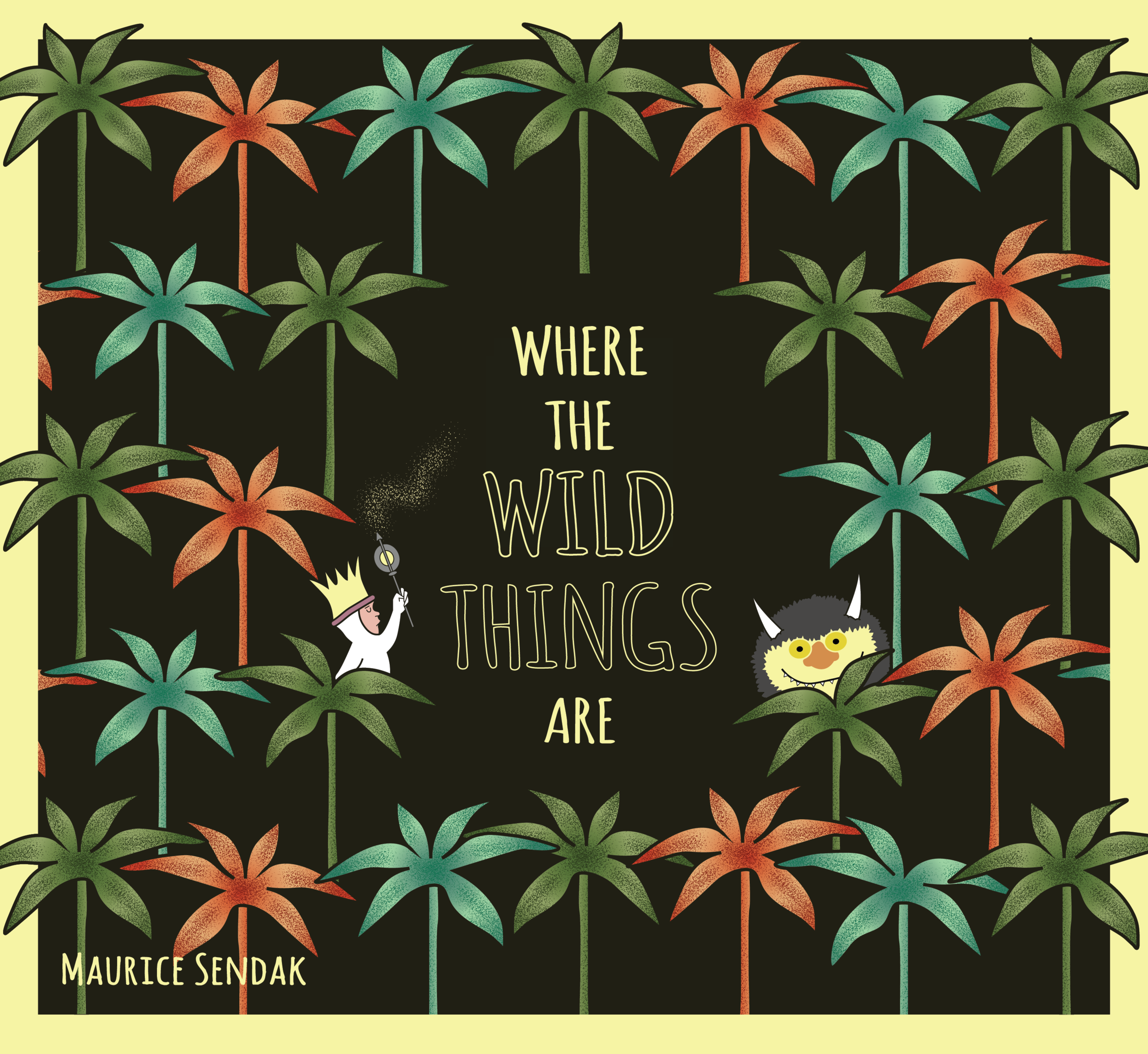 Where The Wild Things Are Book Cover Re-Design (2019)