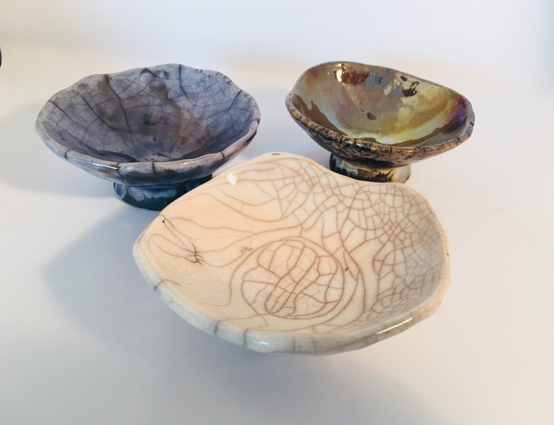 blue clear gold raku bowls.jpeg