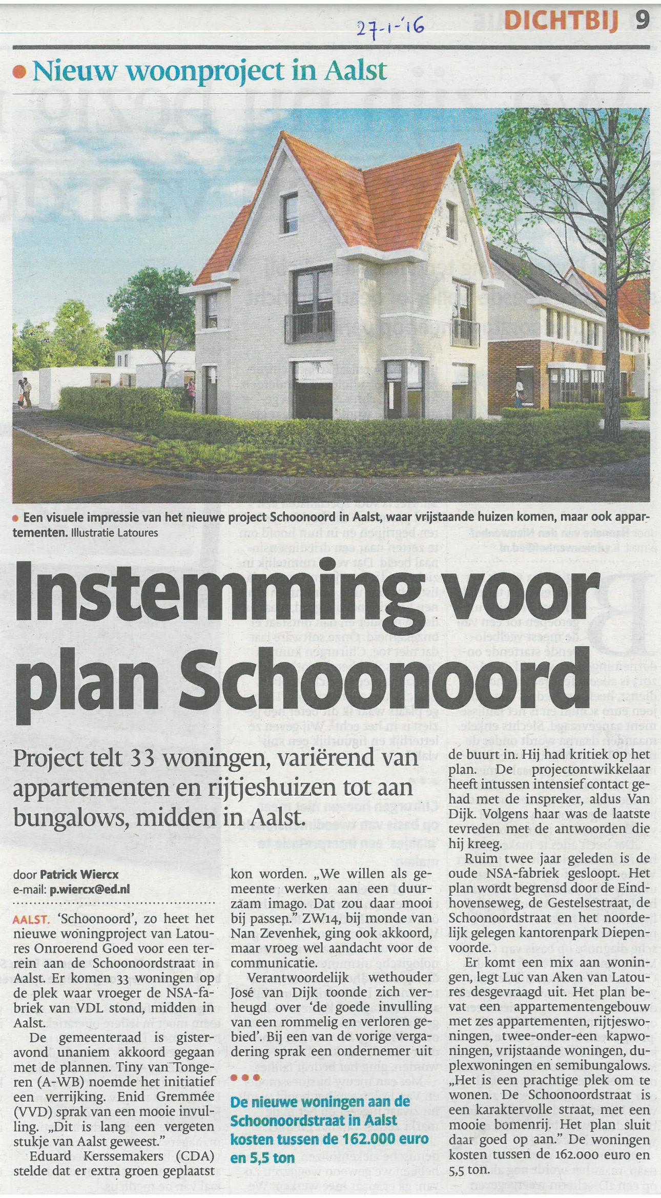 ED - Instemming voor plan Schoonoord 2016-01-27.jpg