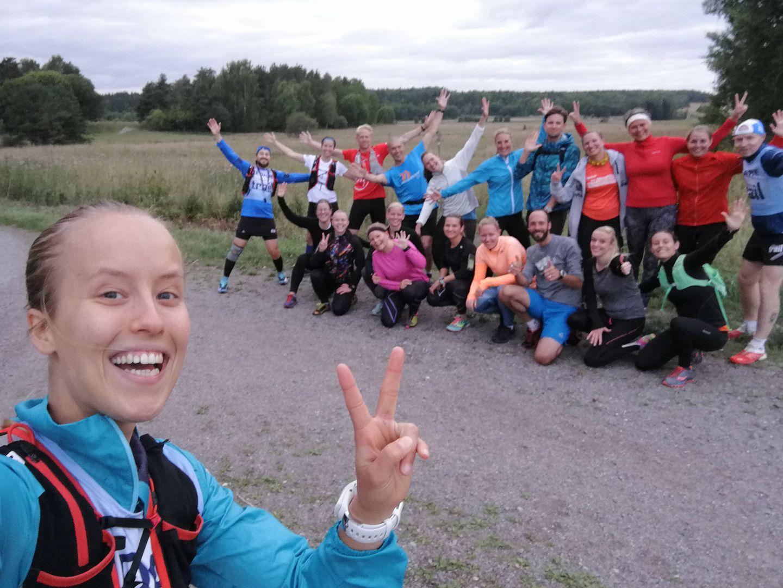 Team Nordic Trail running coach, spring 2017