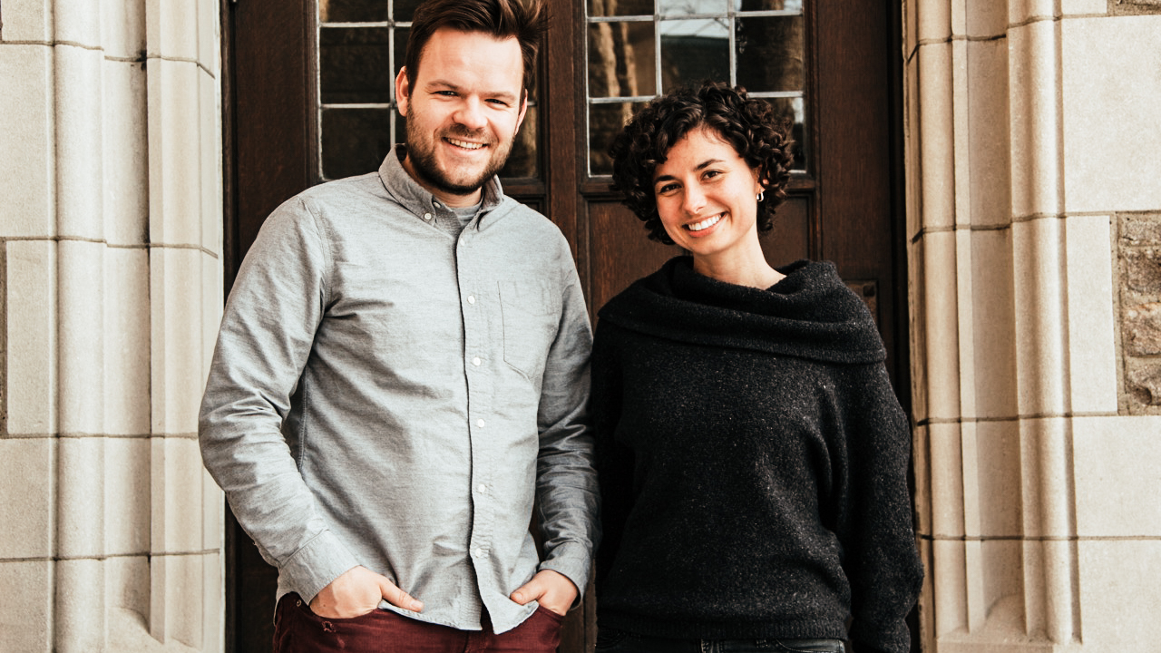 "Casper ter Kuile and Angie Thurston, authors of the ""How we gather"" report, consider themselves emblematic of millennials when it comes to religious affiliation: ""One is personally religious but unaffiliated and the other loves aspects of religious community but doesn't experience a personal God. [...] But community would ultimately be unsatisfying for us both if it did not encompass the spiritual dimensions of existence.""  Picture from the Texas Methodist Foundation website"