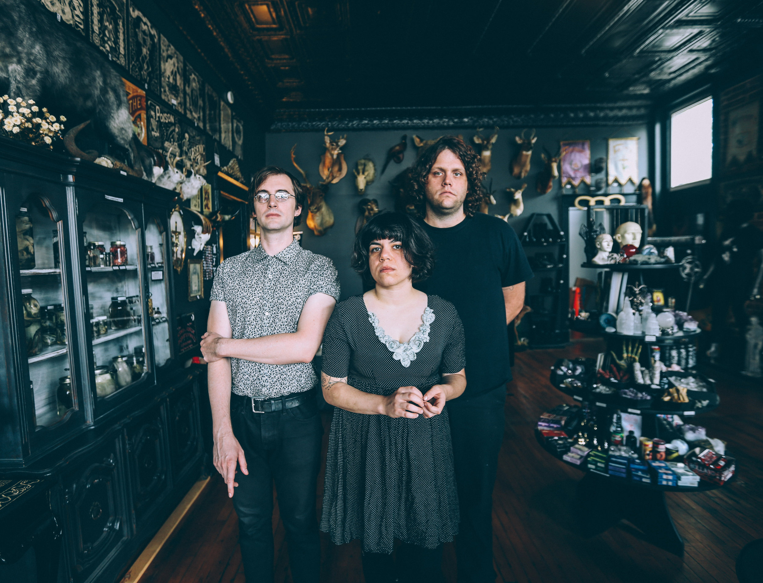 screaming females - Formed in New Brunswick, NJ in 2005, Screaming Females is Marissa Paternoster (guitar, vox), Mike Abbate (bass), and Jarrett Dougherty (drums). Over six albums and more than a decade of music making, the band has remained deeply individual and steadfastly DIY. They have also grown into one of the most dynamic and devastating touring bands going today.Out February 23rd, All At Once is the trio's most expansive and imaginative works to date--a double LP that swings between surreal miniatures and solo-heavy sprawl. Concision takes a backseat to experimentation, with arrangements meant to evoke the energy and spontaneity of their live shows. It's music built across a timeline that's longer than our internet-enhanced moment typically tolerates and a testament to the band's dedication and perseverance.Homebase: New Brunswick, New JerseyLabel: Don Giovanni RecordsFor avails and/or offers, contact:  Brian@WIREDtourbooking.com