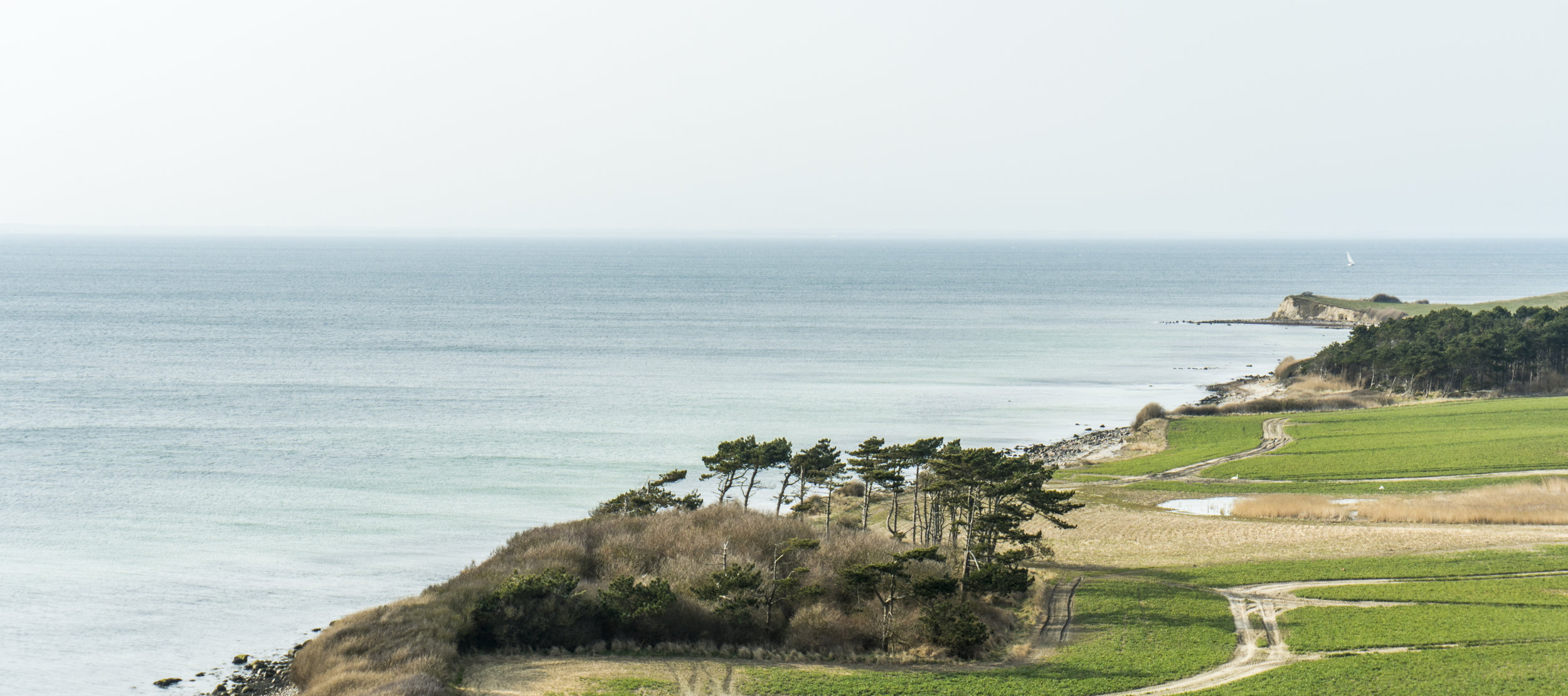 A view from the south of Samsø, a small island in 'the middle' of Denmark. Picture by Amélie Drouet
