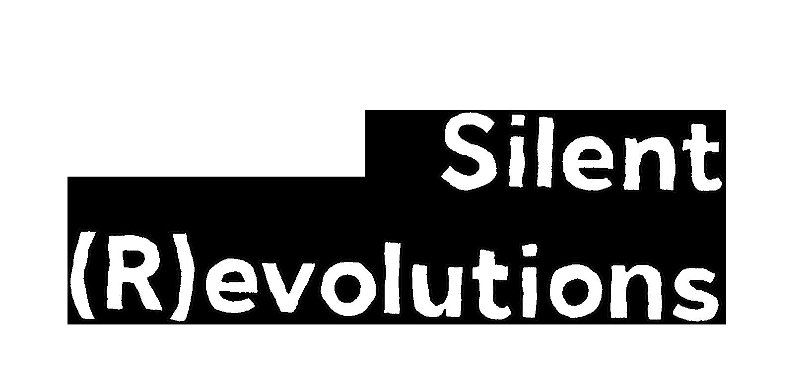 silent revolution typo bw.png