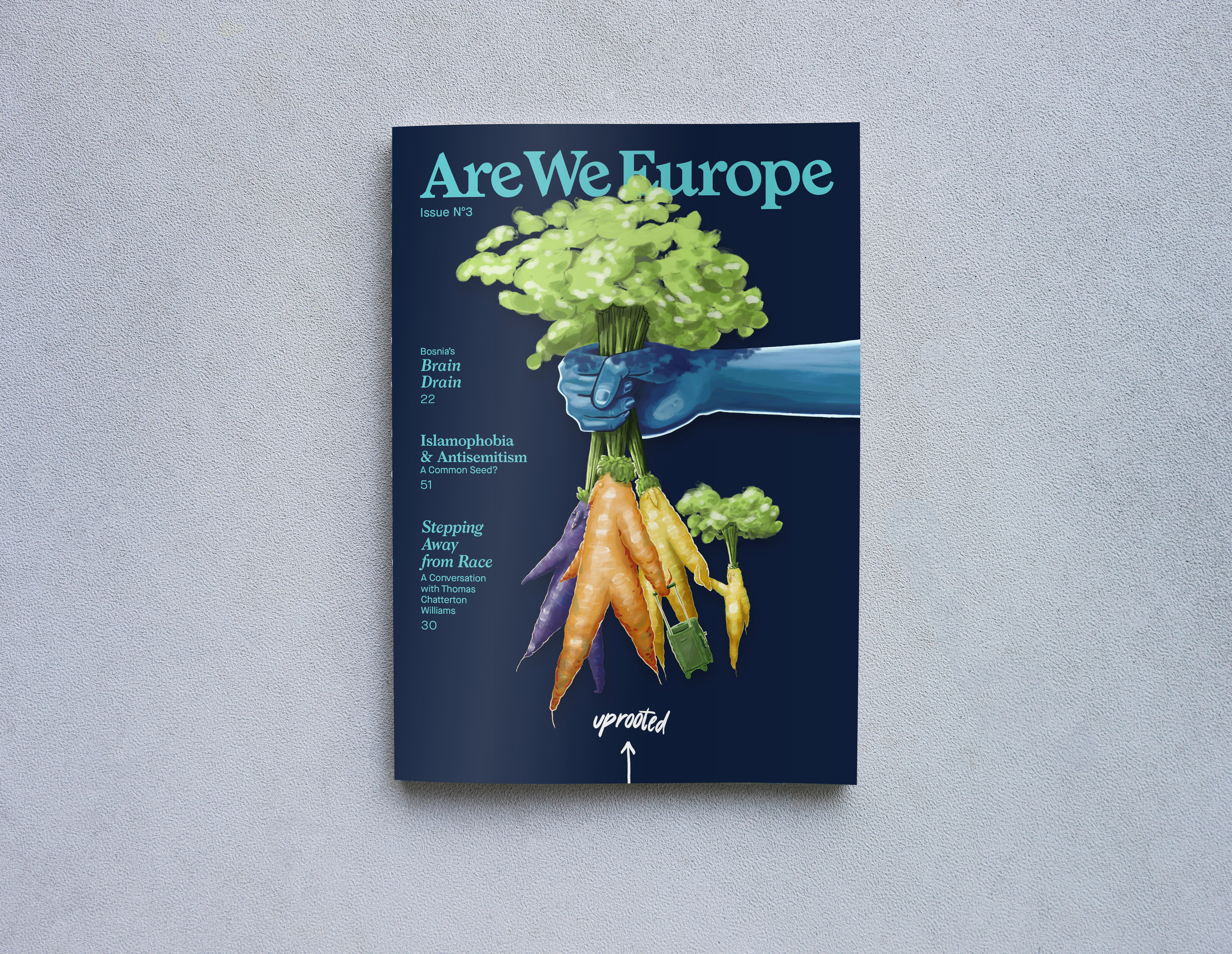 Institutional subscriptions - 4 print issues of ARE WE EUROPE Magazine per year, delivered to you.