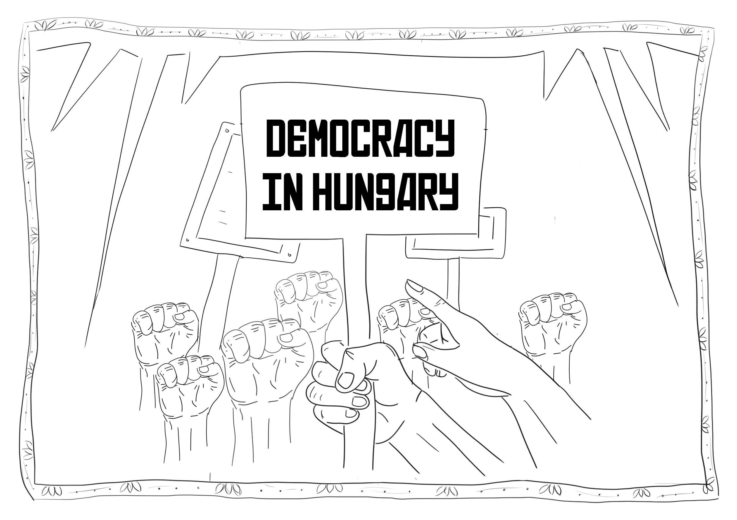 Illustration by Teddy - for Are We Europe