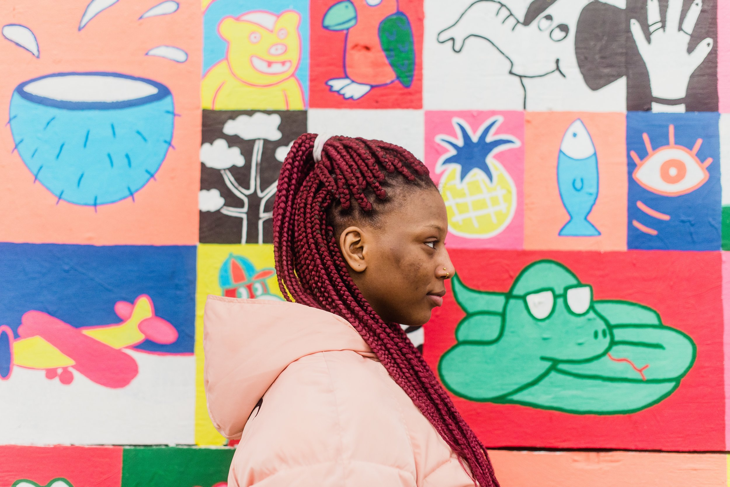 """""""When I turn 18, I hope that I'll be more involved in politics. I don't speak Dutch and I feel like this language barrier is one of the main reasons why I'm not really interested in politics. I think that this is the case for many Afro-Belgians."""""""