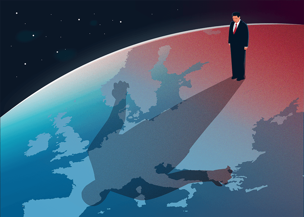 Illustration by  Lucie Ménétrier  for Are We Europe