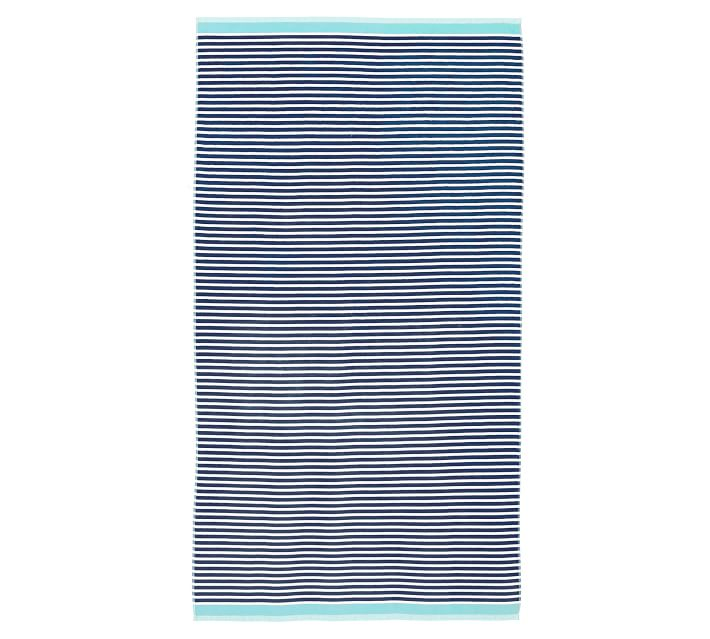 Pottery Barn Mini Strip Towel
