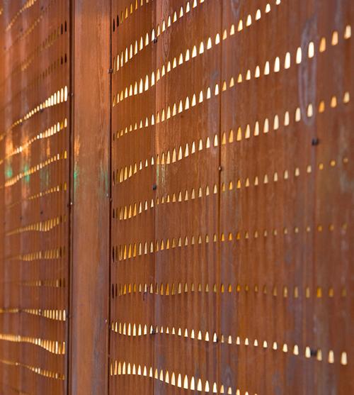 Ammuneal Steel Custom Decorative Walls