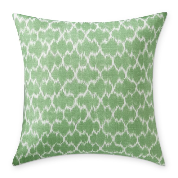 Ikat Throw Pillow /Williams Sonoma