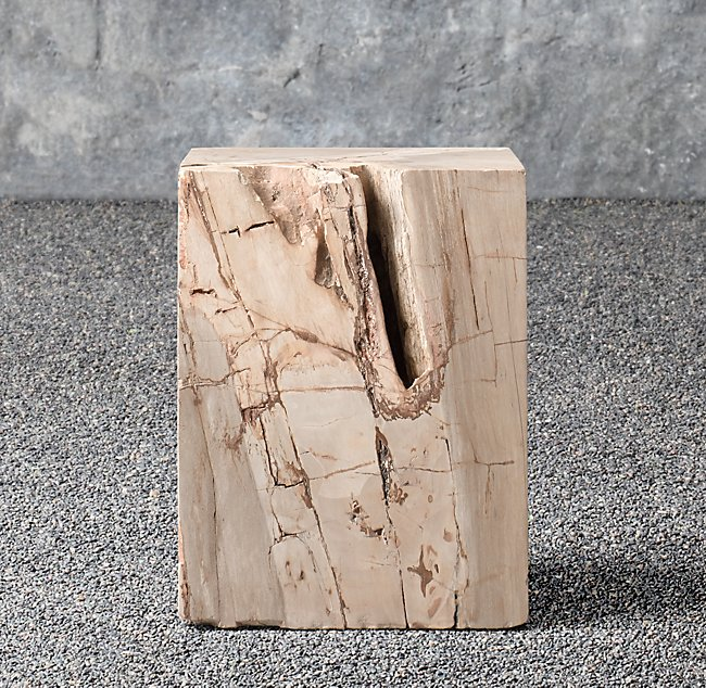 Petrified Wood Square from Restoration Hardware