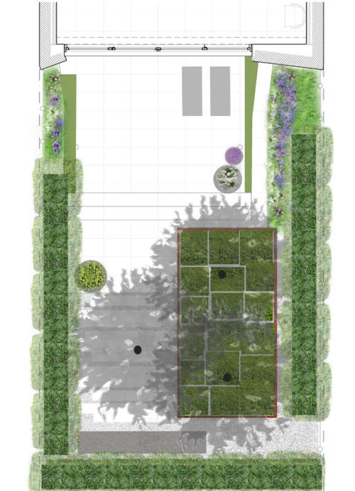 This is an example of a project we did in NYC, that was specifically tailored to the needs and budget of the Client.We would work with you to design a garden that is uniquely tailored to your specific style and budget. Initial site consultations are $300, and then are incorporated into the overall budget for your individual design project.