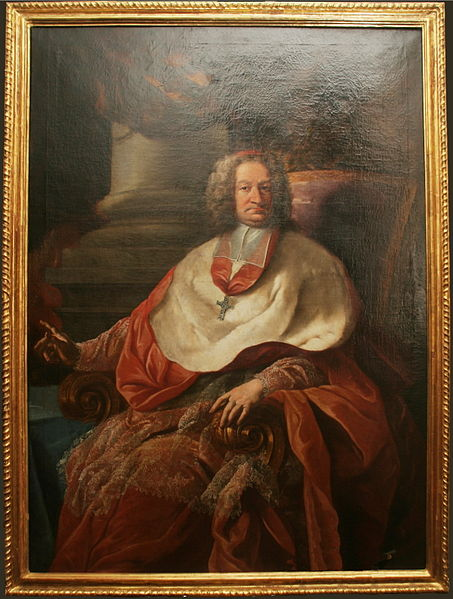 The infamous Archbishop von Firmian. Source: Wikipedia.
