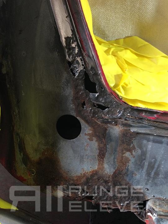 Porsche 911 Runge Coachwork Celette bodywork 94.JPG