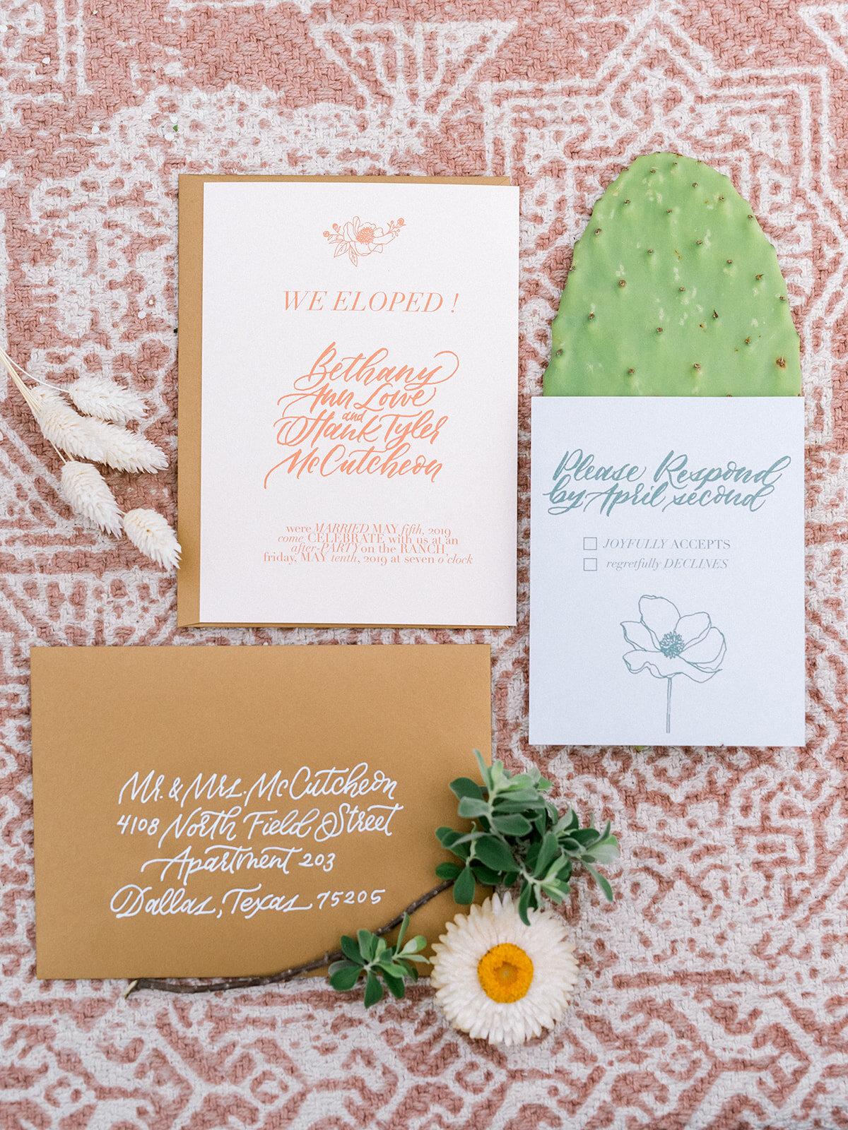 Elegant Country Wedding Invitations