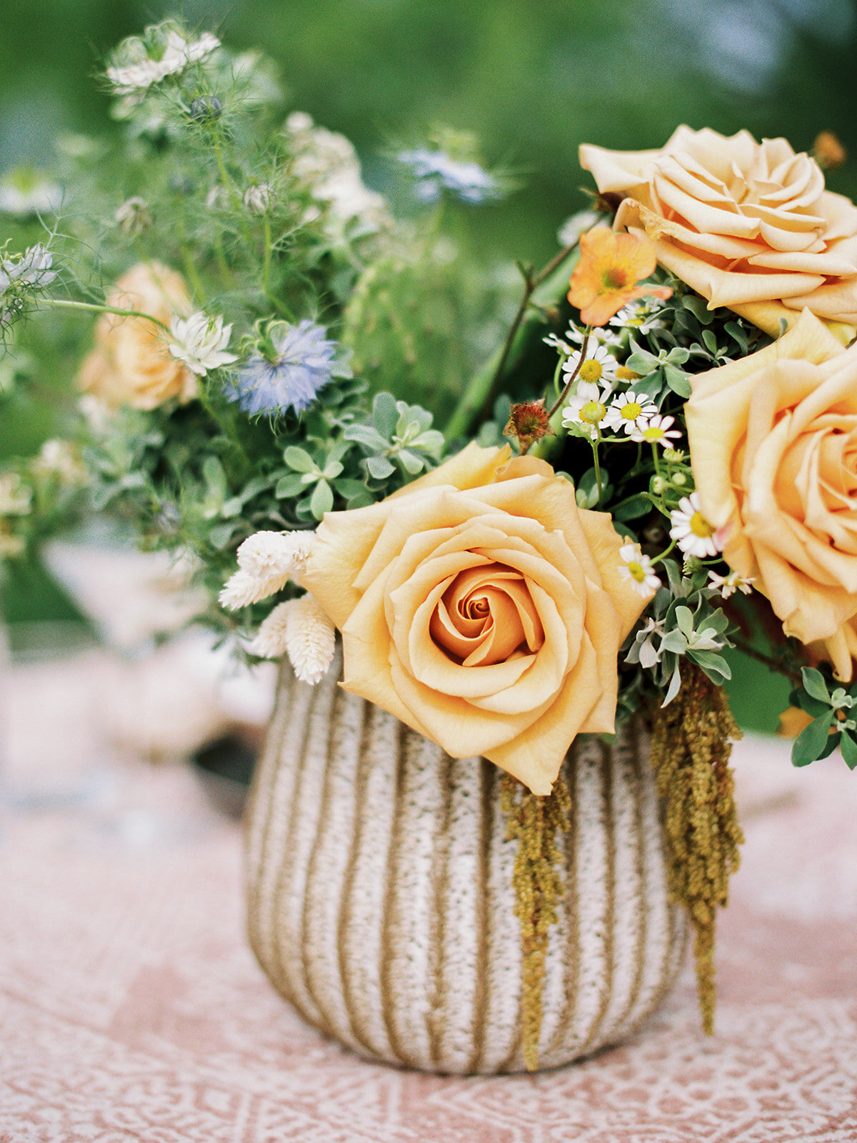 Elegant Yellow Rose of Texas Floral Arrangement
