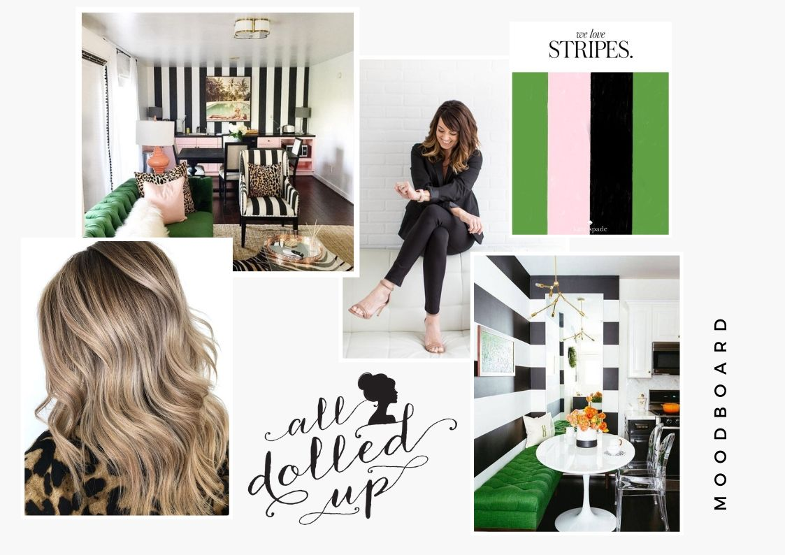All Dolled Up hair and beauty bridal boutique moodboard.jpg