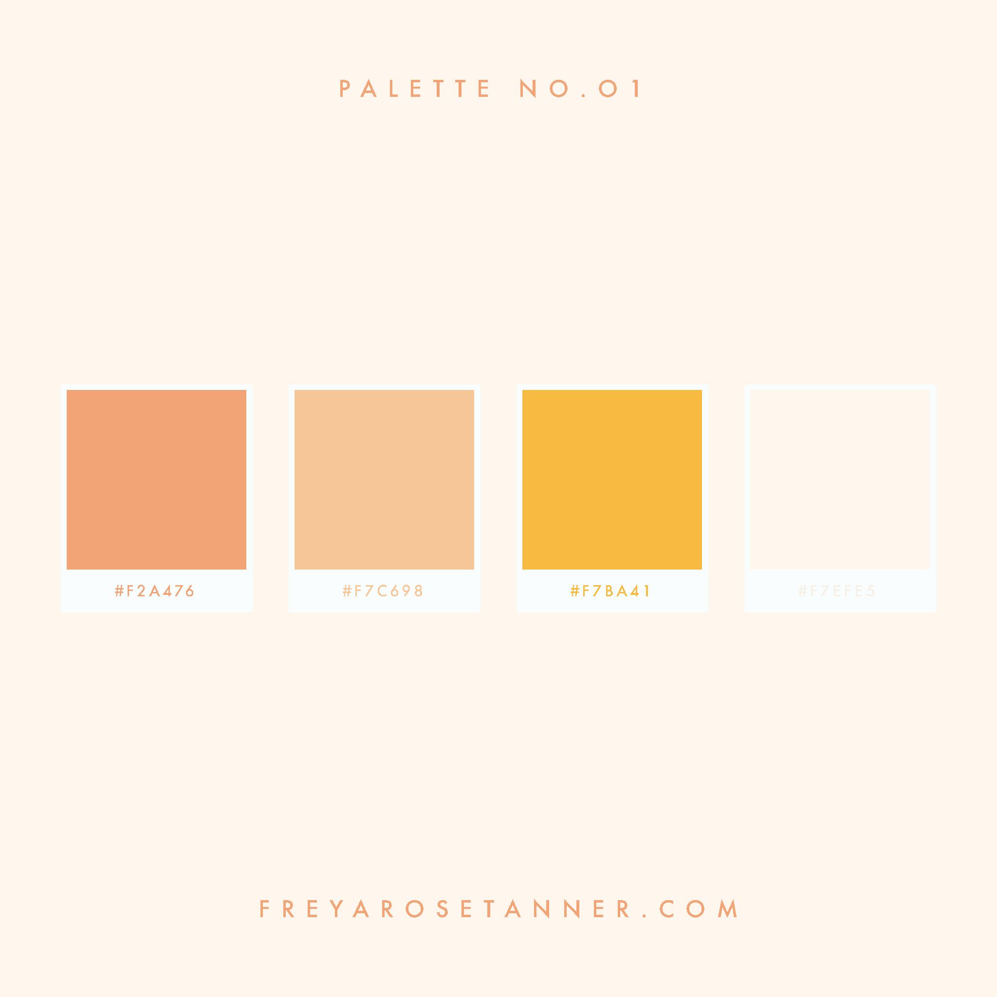 peach pastel golden yellow cream sun kissed orange Bright Vibrant Colour palette no.01.jpg