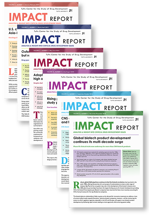 Tufts CSDD Impact Reports — Tufts Center for the Study of Drug