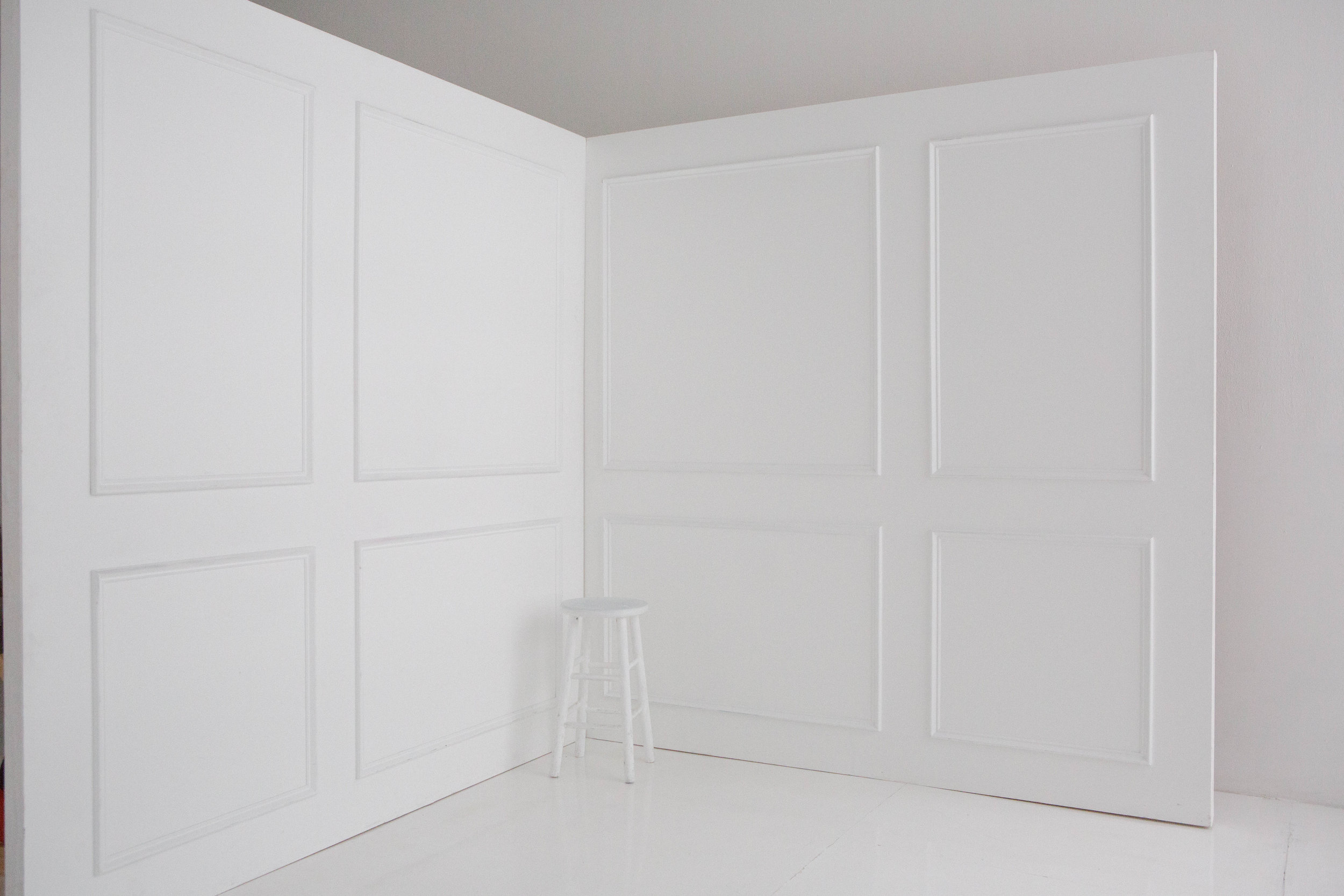 Two 8x8 flats with Molding A