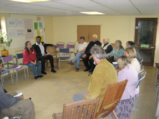 Our first meeting with East Dorset Housing Association