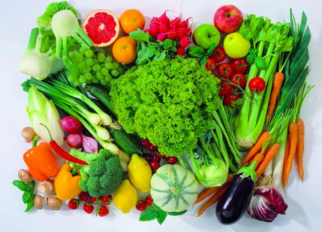 Eat a diet with 50% of your meal being vegetables