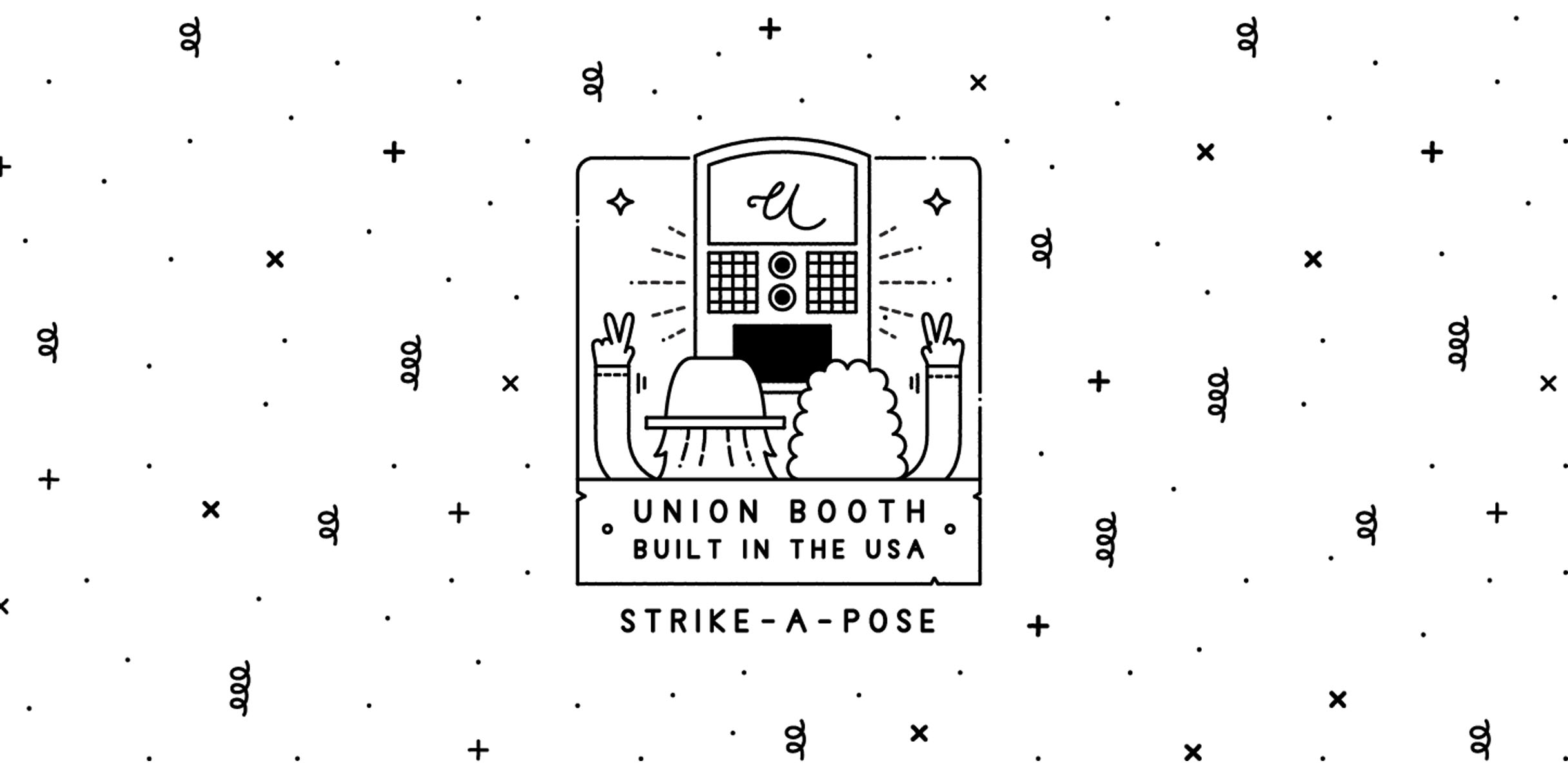 Union Booth -5 star, top rated Vintage style classic photo