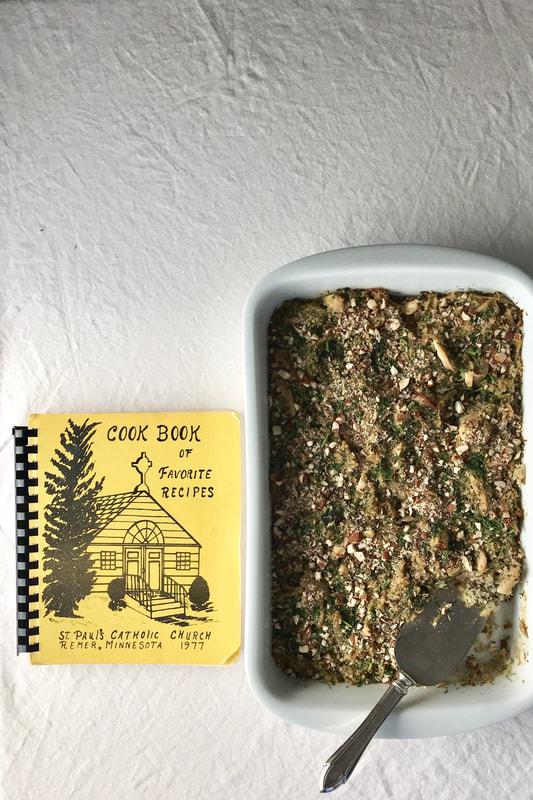 Healthy-ish Chicken & Cauliflower Rice Casserole | Nourish SF