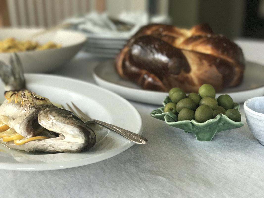 A Simple Rosh Hashanah Meal | Nourish SF
