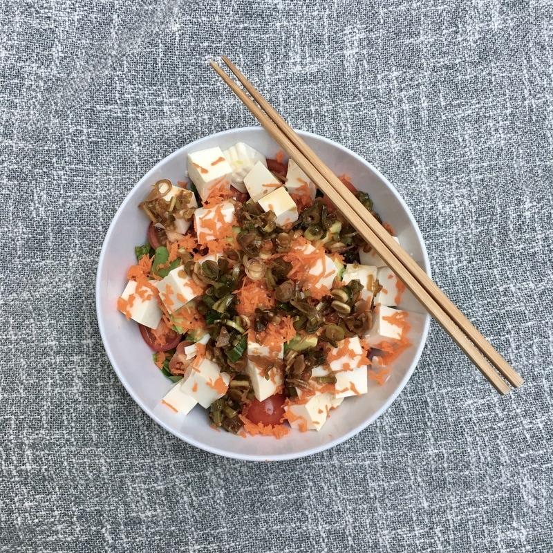 ばちゃん's Tofu Salad | Nourish SF