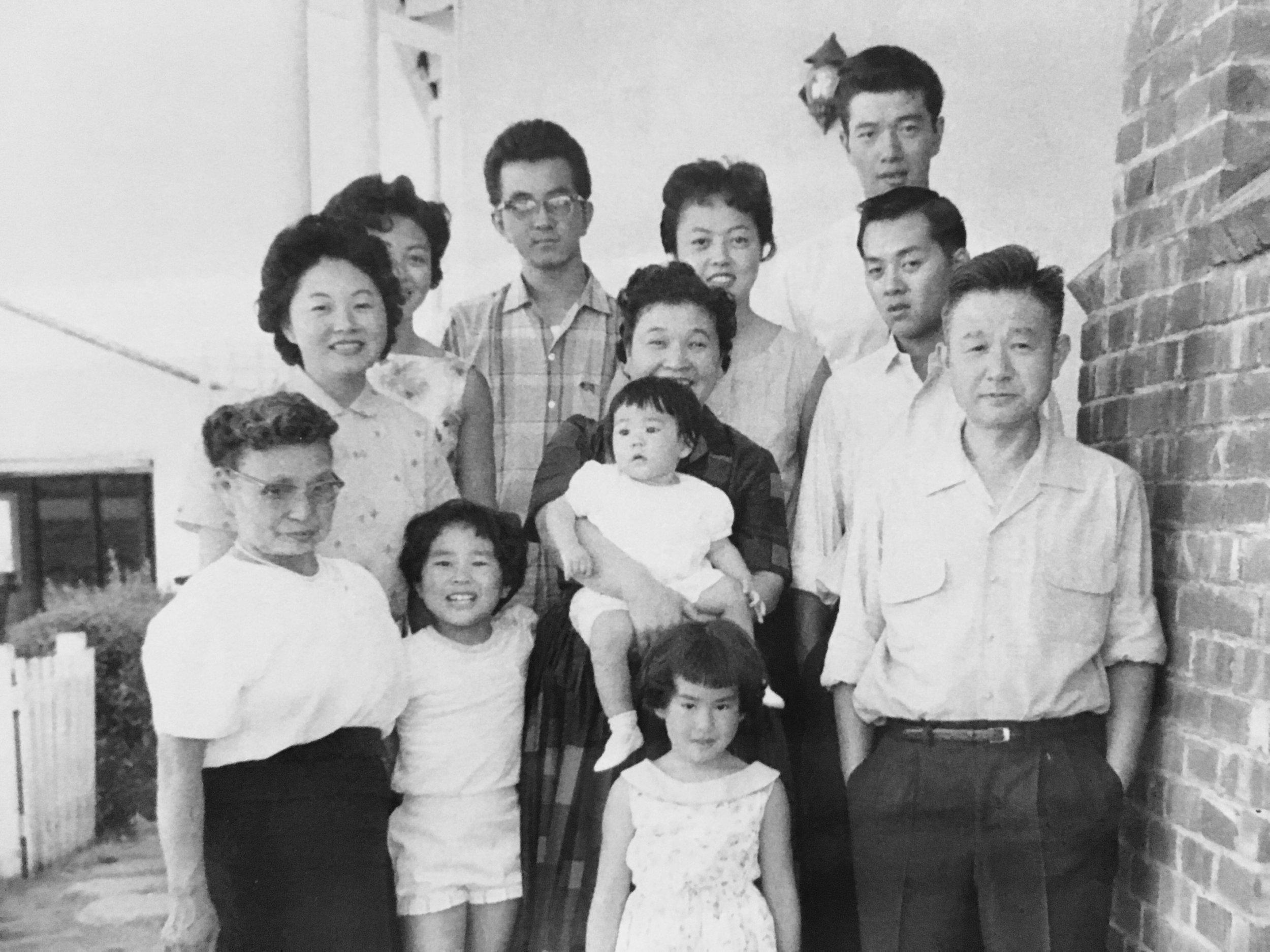 The Tsuchida and Mori families in Berkeley