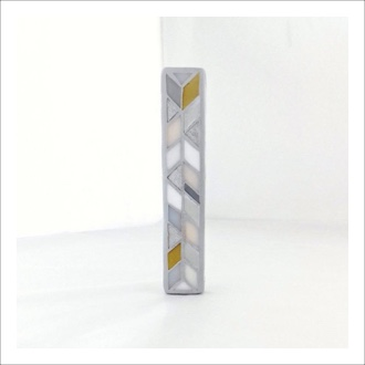 Nourish Co. Products | Stained Glass Mezuzah