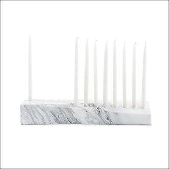 Nourish Co. Products | Marble Menorah