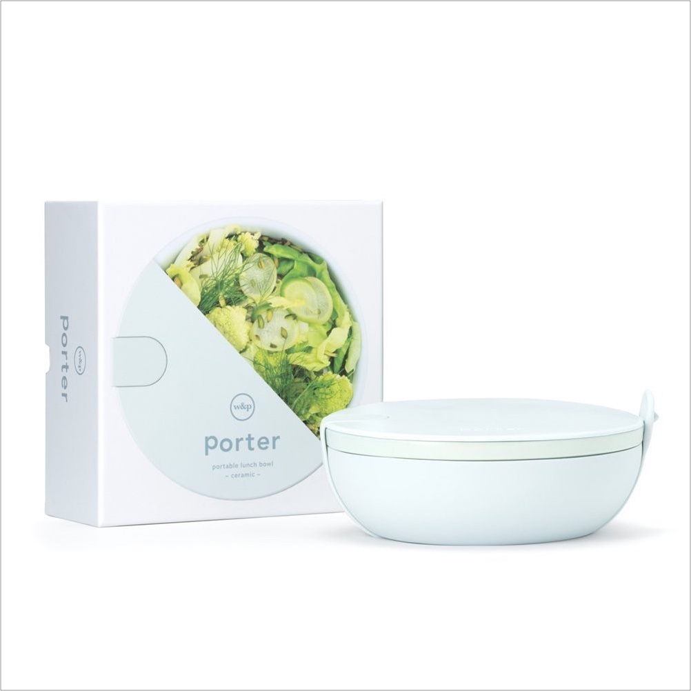 Nourish Co. Products | Reusable Ceramic Lunch Bowl