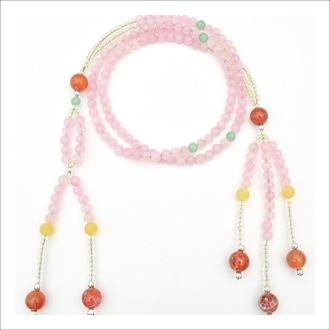 Nourish Co. Products | Rose Quartz Juzu Prayer Beads
