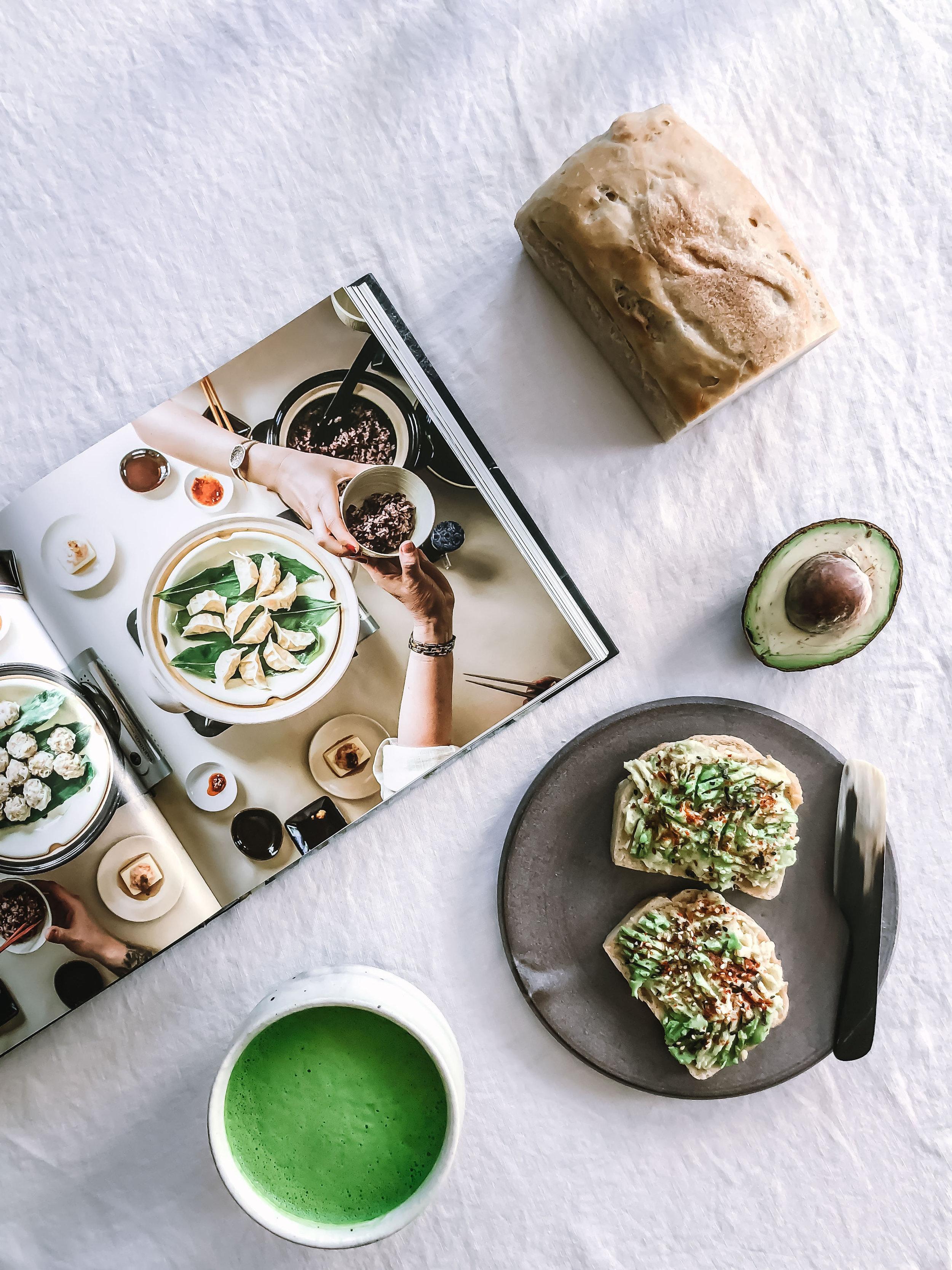Nourish Co. Zine | Miso Avocado Toast