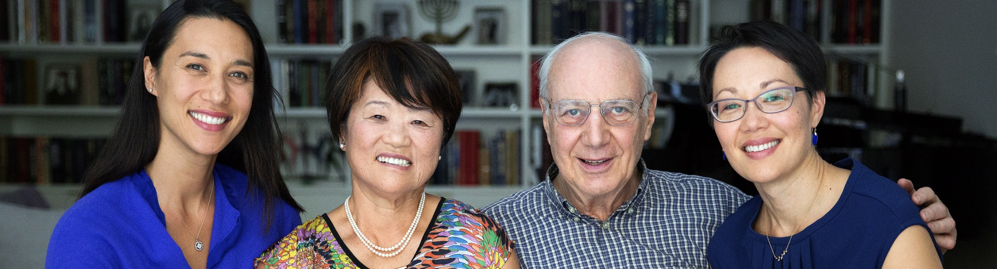 Photo of Rabbi Buchdahl and her family from KoreanAmericanStory.org 's legacy project: Sulja Warnick (Rabbi Buchdahl's mother)