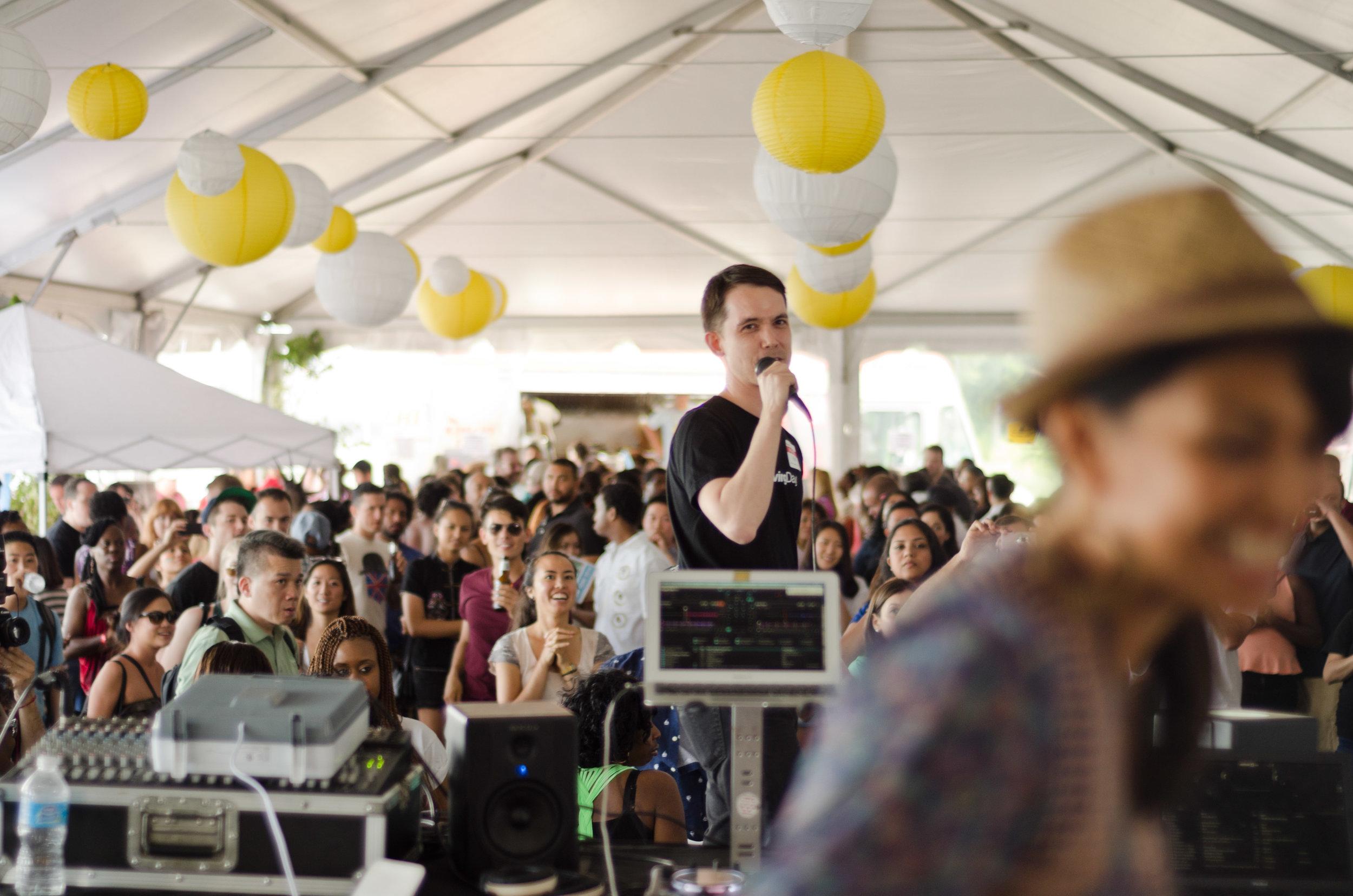 *Photo of founder Ken Tanabe at a Loving Day celebration by Shawna Enyart