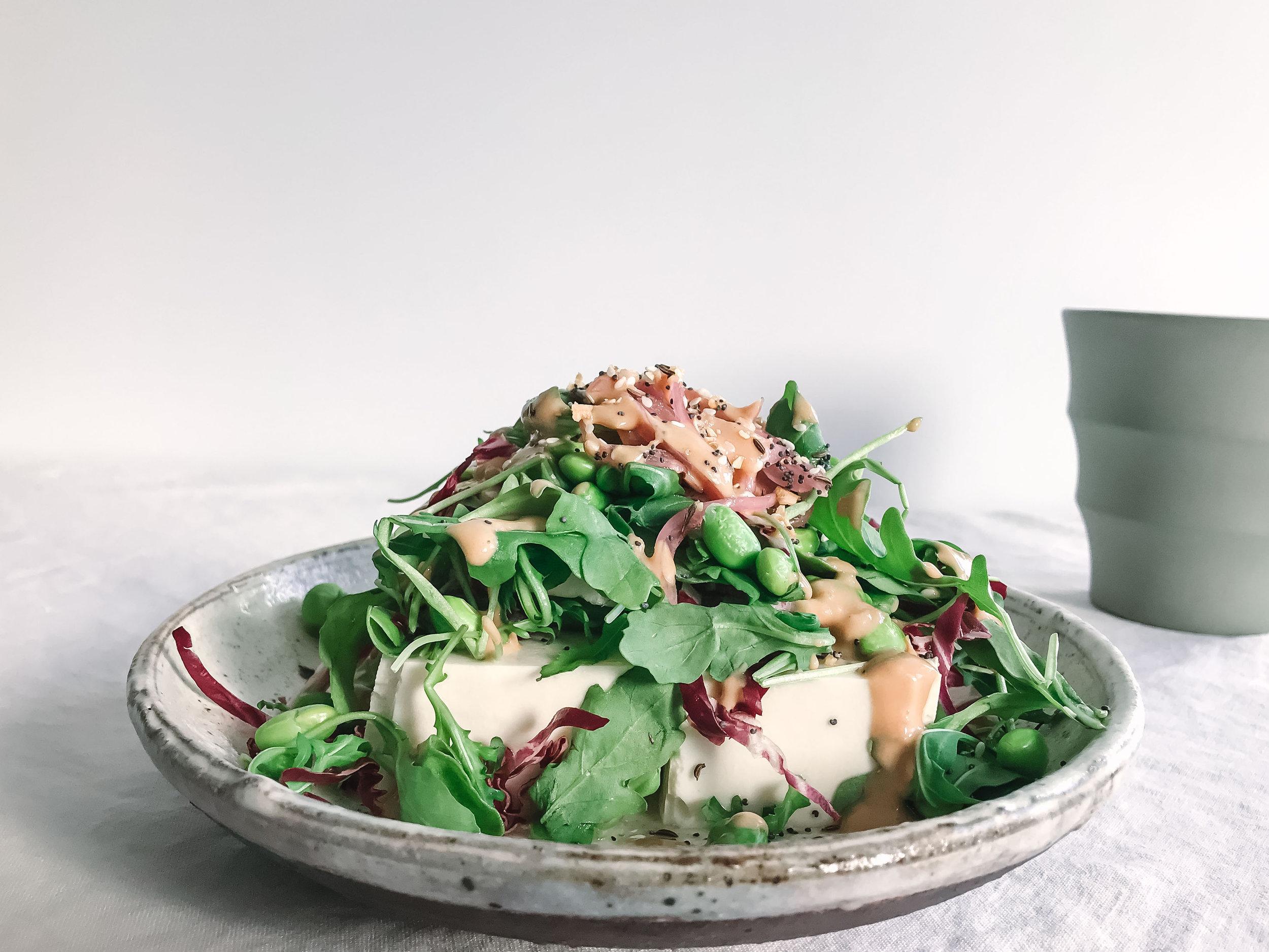 Nourish Co_Tofu Salad