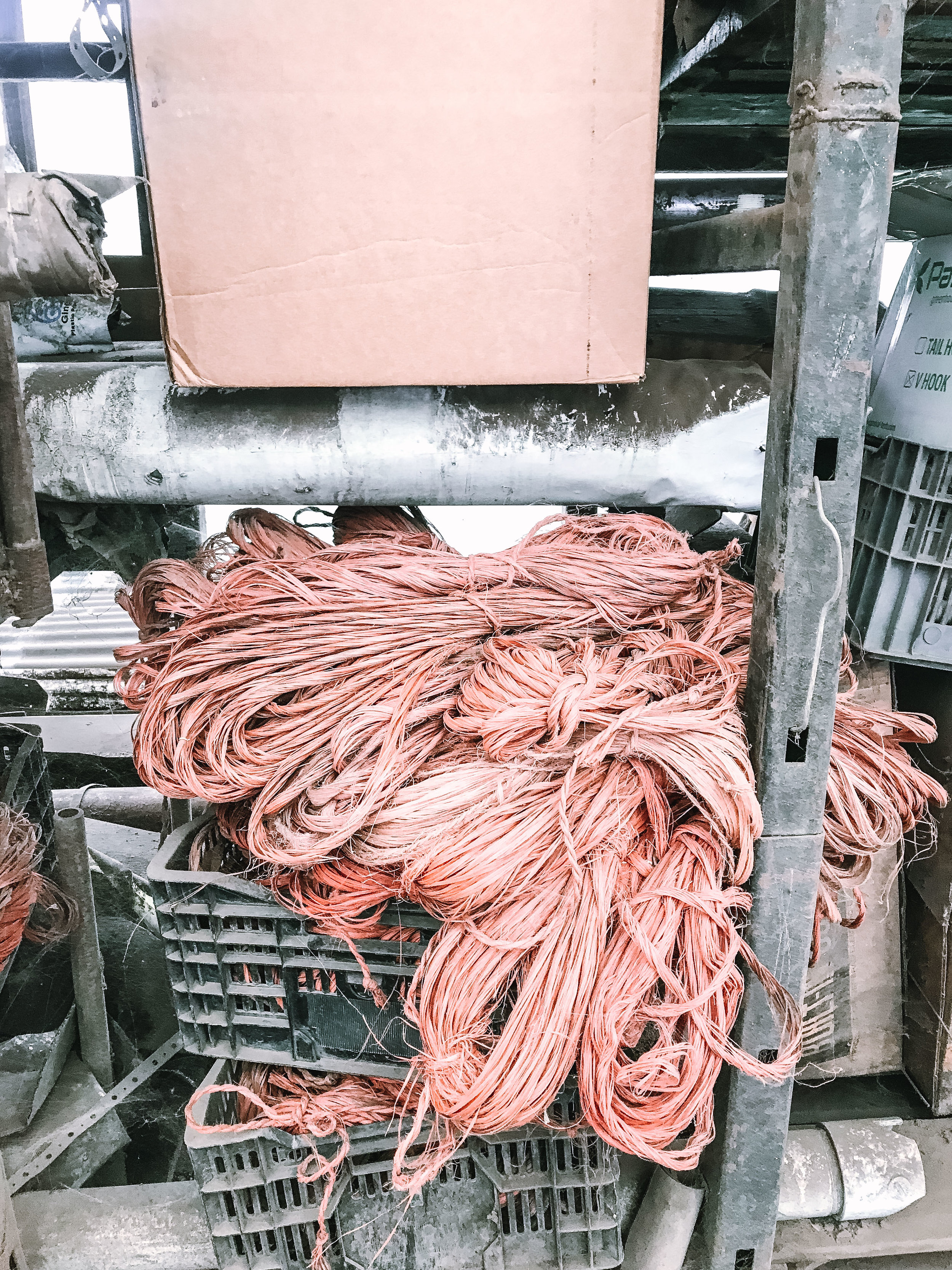 Decades-old ropes still being reused