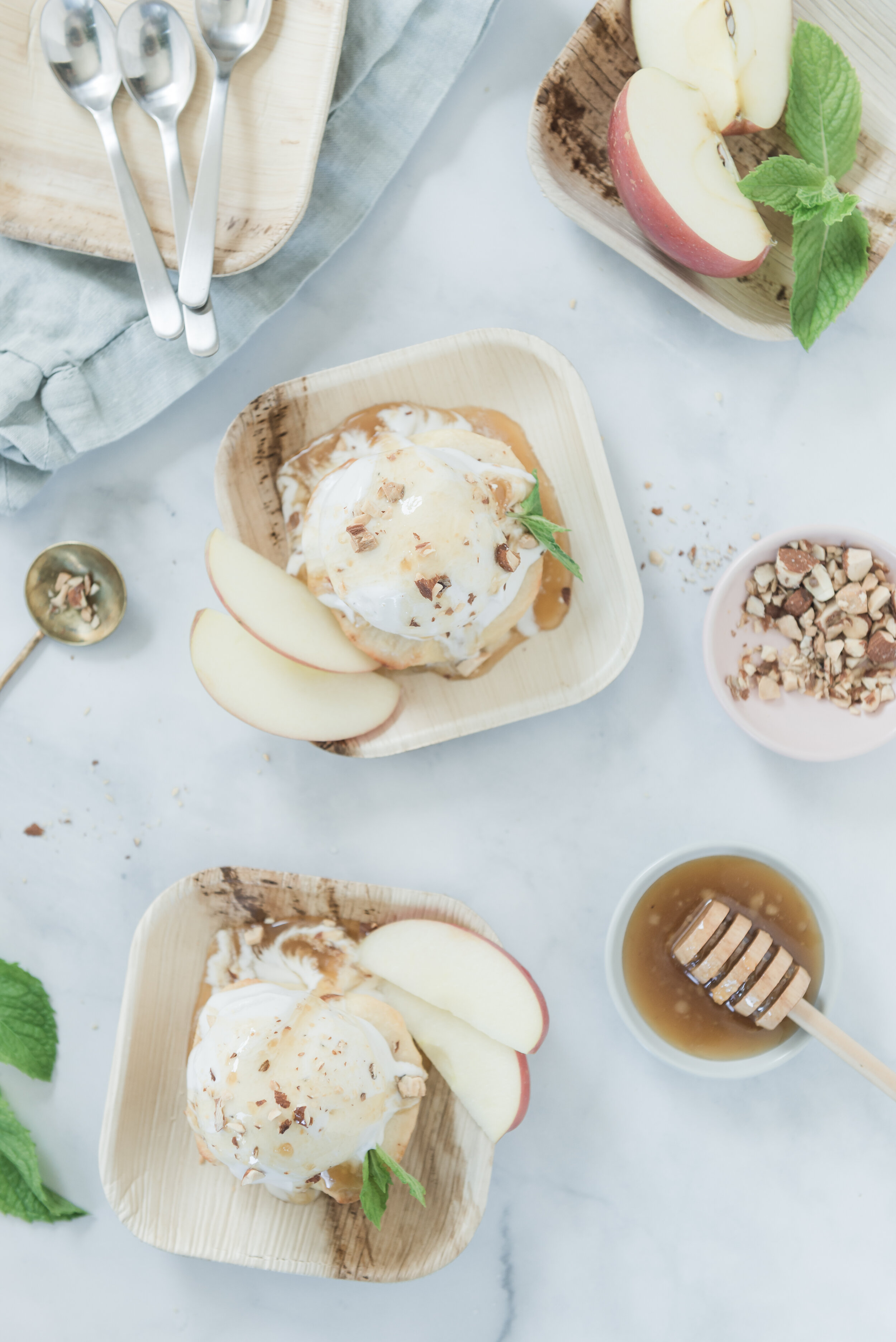 Apples & Miso Honey Sunday    *Photo by    Nicole Morrison