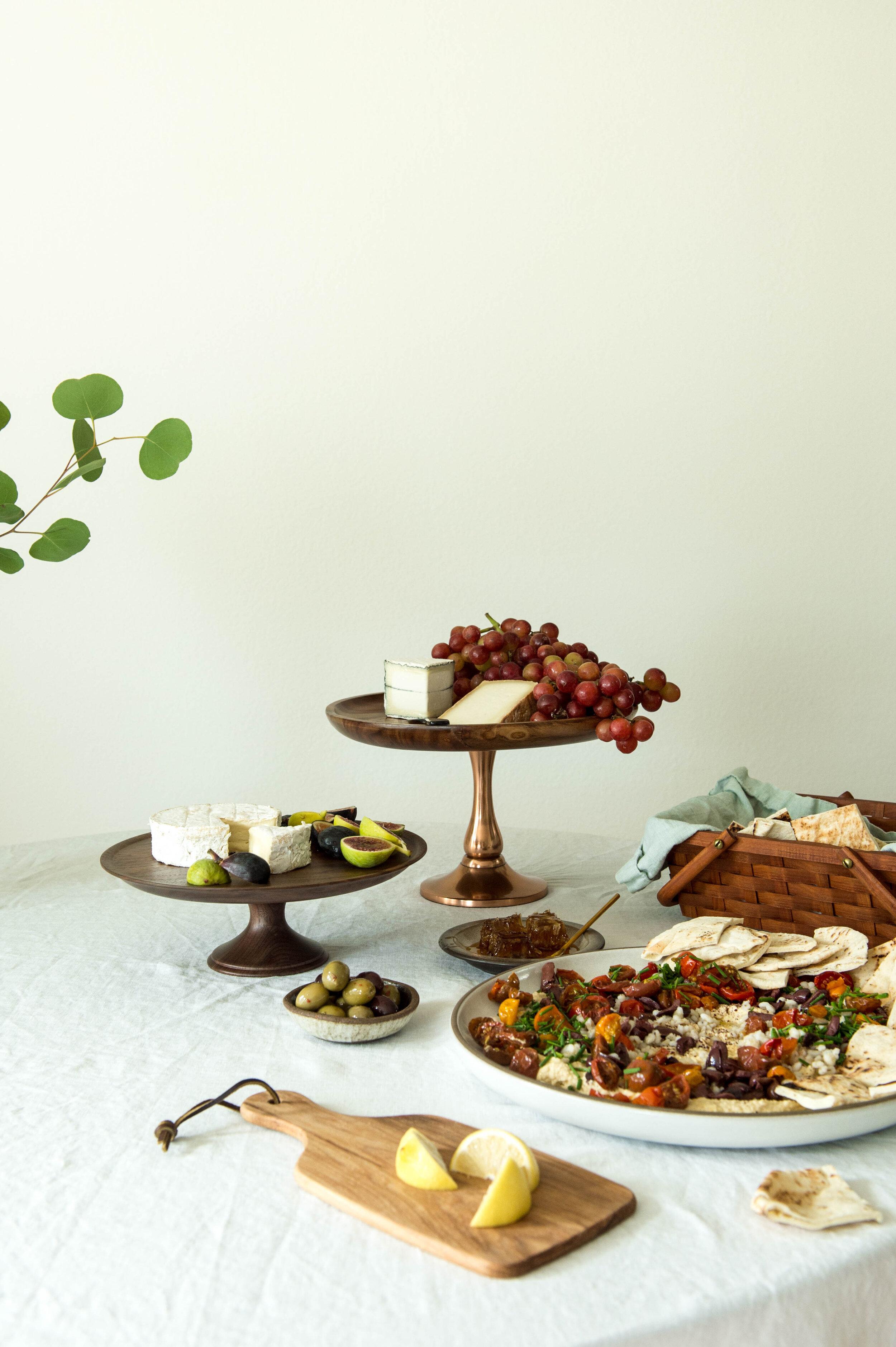 Nourish Co. Journal | Seven Species Cheeseboard | Renee Lynn Frojo