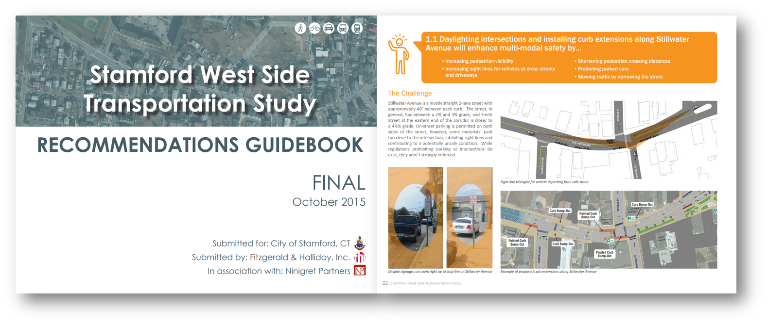 The POCD document should be designed for and useful to a wide audience. This report from FHI's work in Stamford was designed for City leaders and neighborhood stakeholders.