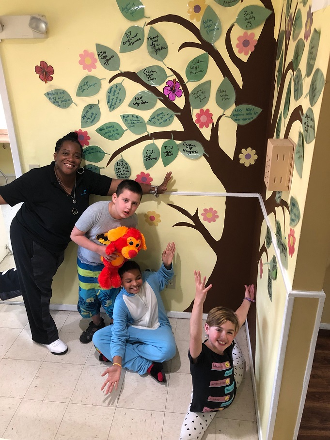 Merrick Group Home   Merrick Residents filled their second tree with 50 Acts of Kindness!